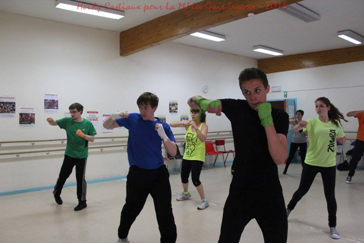 Kick power training