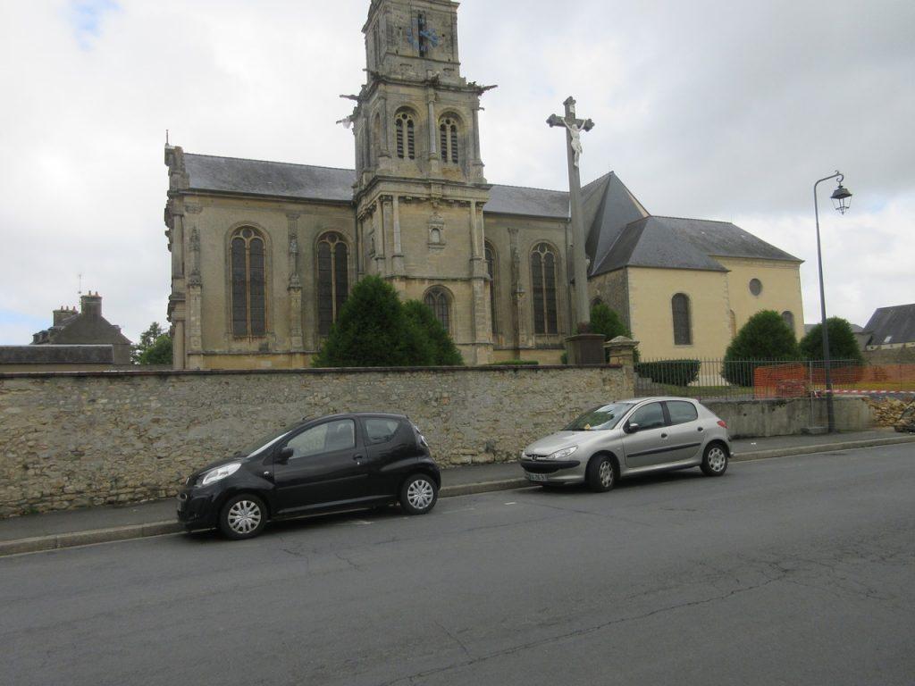 Bayeux , l'église Saint Patrice.