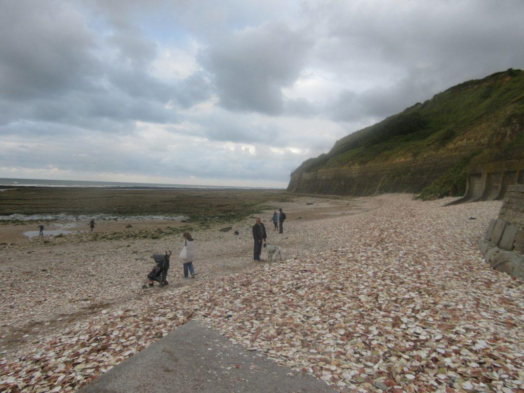 Les plages de Normandie...
