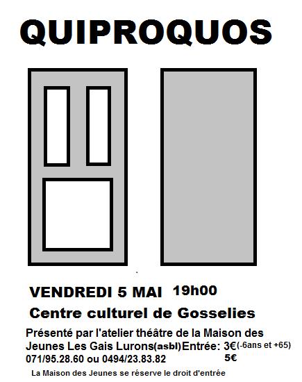 Théâtre-Quiproquos